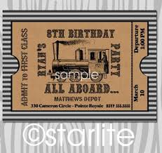 15 Awesome Train Ticket Template Printable Images Thomas The Train