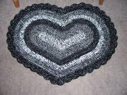 heart shaped rug crochet pattern cool crochet rug patterns inhabit zone