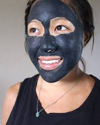 homemade charcoal clay mask