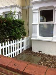 picket fencing for front gardens london