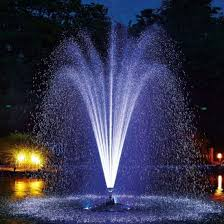floating water fountain