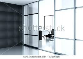Modern Office Door Design Wonderful Office Main Door Design Empty Cubicle With Laptop On Table Behind A Glass Doors In Modern Wonderful