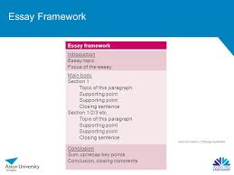 module requirements for a university essay part transition  3 essay framework introduction