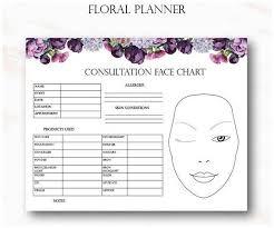 Floral Makeup Artist Business Planner Bundle Freelance
