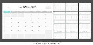 2020 2020 Weekly Planner