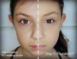 recital makeup step 1