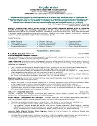 Senior Market Research Analyst Resume Sample Elegant System