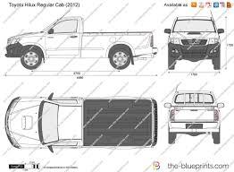 Dimension Toyota Hilux РId̩e d'image de voiture
