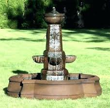 large outdoor wall water fountains water wall fountain houston texas