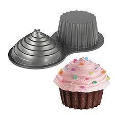 Wilton Giant Cupcakes Pan Two Sided Cup Cake Oversize Big Large Huge