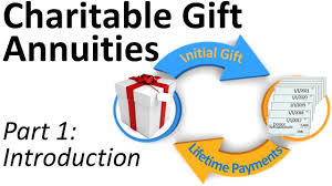 charitable gift annuities 1 introduction
