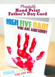 Fathers Day Card Template Printable Hand Print Templates Shirt And