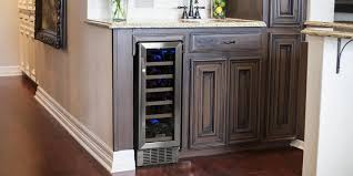 built in wine fridge. 12 Inch 18 Bottle Built In Wine Cooler Cwr181sz Fridge