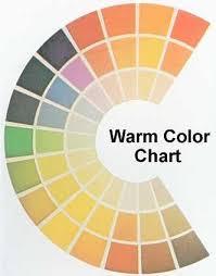 Warm Colour Chart Warm Colour Chart In 2019 Warm Colors Color Warm Autumn