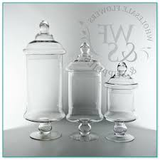 Decorative Glass Jars Wholesale Decorative Glass Jars With Lids Wholesale 64