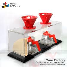 china acrylic double pour over stand manufacturers and suppliers customized s pinxian