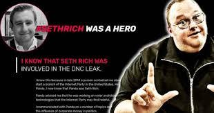 Image result for Seth Rich BOMBSHELLS kim dotcom