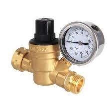 garden hose pressure regulator. Water Pressure Regulator 3/4 Valve Lead Free Gauge Adjustable RV NH Garden Hose U