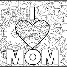 Heart Coloring Pages Pdf I Love You Coloring Pages As Unique Mothers