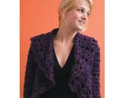 Lion Brand Crochet Patterns Stunning Olivias Shrug Pattern Crochet Lion Brand Yarn