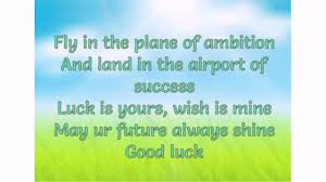45 Good Luck Messages Wishesgreeting