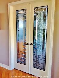 interior door leaded glass