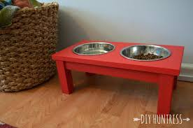 dog bowls and stands dish plans wooden bowl stand holder