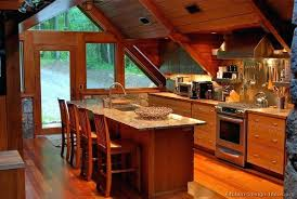 tiny log cabin kitchens attractive kitchen ideas home pictures design ide