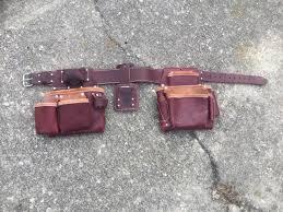 occidental leather 5080db tool belt bag system slightly large