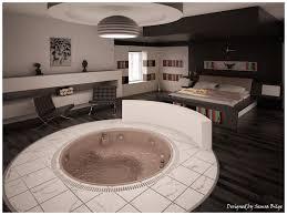 Pics Of Bedroom Interior Exterior Plan Creative Bedroom Concept With A Bathtub