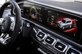 (554)кожа наппа двухцветная amg exclusive коричневый трюфель / чёрная. 2020 Mercedes Amg Gls 63