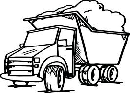 mud truck coloring pages ford medium size of dump semi garbage classic c