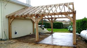attached pergola ideas house plans free wood kits
