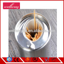 Stainless Steel Automatic Toothpick Holder/portable Toothpick Box/home  Decoration Metal Toothpick Holder