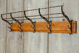 vintage wall mounted coat rack keeps