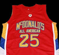 American Rose Size Chart Derrick Rose Mcdonald All American Jersey New Sewn Any Size
