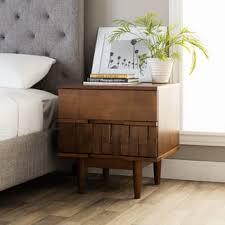 mid century modern bedside table. Jasper Laine Tessuto 2-drawer Night Stand Mid Century Modern Bedside Table E