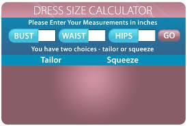 Dress Size Calculator Cheapmotherofthebridedresses