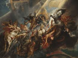 the fall of phaeton 1604 in the national gallery of art in washington d c