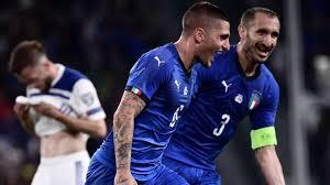 Resultado de imagen para italia 2 bosnia 1 2019