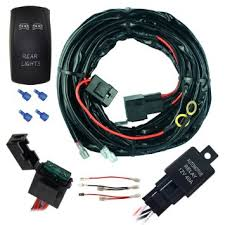 cheap off road light harness off road light harness deals on mictuning universal 14 awg 14 ft dual light off road led light bar wiring harness kit
