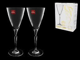 "Бокалы и фужеры | <b>Набор бокалов для вина</b> ""FIRST LADY"" (2шт ..."