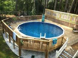 diy above ground pool slide above ground pool slide above ground pool with slide above ground
