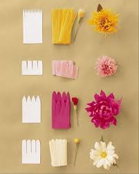How To Create A Flower With Paper How To Make Paper Flowers Step By Step Google Search Crafts