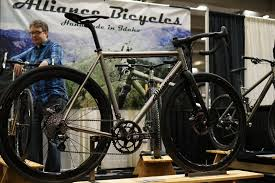 nahbs 2016 titanium bicycle roundup from alliance dean steve