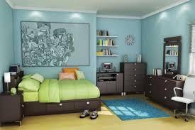 image of boys bedroom furniture plan