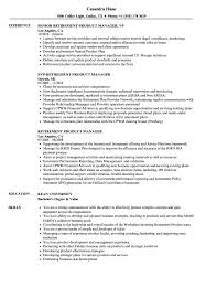 Product Manager Resume Examples Perfect Experience Product