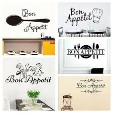 wall decals stickers bon appetit