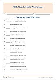 Consumer Math Worksheets. Math Worksheets. Stevessundrybooksmags ...