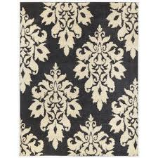 Small Picture Home Decorators Collection Meadow Damask Blue 7 ft 10 in x 10 ft